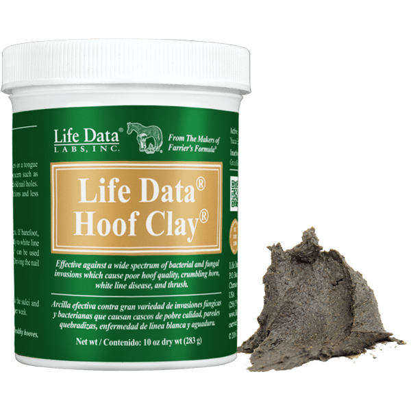 Life Data® Hoof Clay® for Thrush